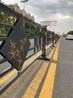 广德带logo定制中心中央道路护栏人行道边缘护栏花式竹子护栏