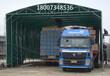 厂家制作活动推拉雨棚伸缩遮阳篷移动式钢结构雨篷