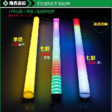 LED铝材护栏管图片