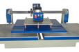津科DZK-AY工厂供应服装衣帽加工上滑式气动热溶胶机压烫机印画机