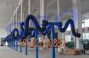 长春实验室用的万向吸气臂,三维吸气臂万向柔性吸气臂