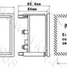 厂价直销DH96-MW方形直角三相有功功率测量表150/5A6/0.1KV