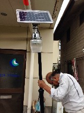 BCT-OLA1.0太阳能苹果灯