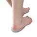 敏斯特足跟骨刺鞋垫足底痛疼鞋垫足底垫脚后跟缓解疼痛柔软硅胶垫