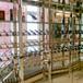 现代金属不锈钢酒柜酒柜隔断私人定制酒店酒吧酒架酒柜展示架批发