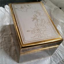 仿古工艺金属盒骨灰盒工艺品盒厂家定制图片