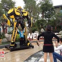 让您的店面备受瞩目过目不忘,让大黄蜂机器人来为您实现图片