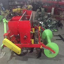 单垄双行播种机不带覆膜的花生种植机农业种植机械