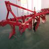 四轮拖拉机带1L-25系列铧式犁加固型三点悬挂农田耕地犁