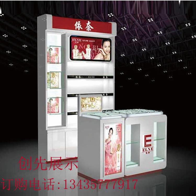 广东厂家直销精品柜化妆品柜美容产品展示柜手机展示柜