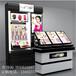 上海定制化妆品展示柜护肤品柜美容用品展示柜木制烤漆展示柜供应