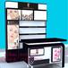 时尚新款手机柜烟酒柜化妆品柜玻璃展示柜护肤品展示柜厂家