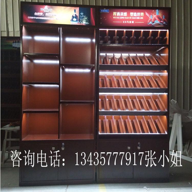 时尚新款便利店烟酒展示柜玻璃烟柜新款组合烟柜台高柜红酒柜图片