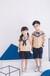 护岛宝贝幼儿园园服男女童新款针织面料三角拼接儿童夏季套装校服