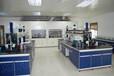 東莞新科教學裝備公司現代科學實驗室設備鋼木中央實驗臺03