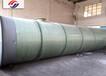 广西贺州地埋式一体化预制泵站的施工现场
