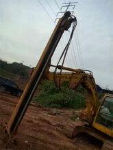 挖改钻,挖改钻机,挖机改装凿岩机简介图片