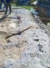 冷开岩石柱式裂石机