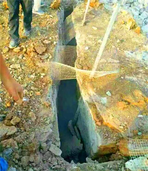 武隆金属矿开采取代炸药的机械