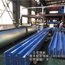 黑河彩鋼板樓承板鋁鎂錳板加工圖片
