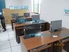 乌鲁木齐多媒体教室双人位电脑桌升降液晶屏配件