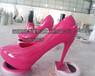 商业街美陈摆件仿真高跟鞋雕塑鞋雕塑深圳玻璃钢雕塑