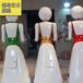 机器人外壳设计玻璃钢机器人外壳雕塑餐厅迎宾摆件