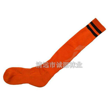 足球袜运动袜长筒足球袜-广东袜子加工厂