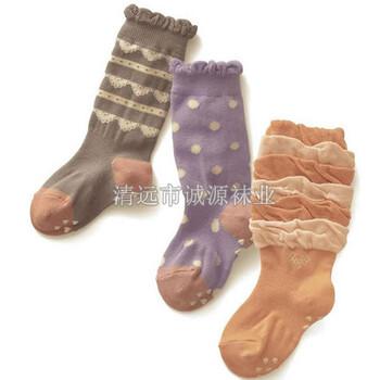 广东袜子厂OEM儿童袜秋冬袜儿童袜供应商