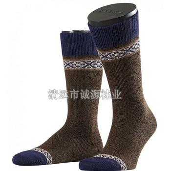 广东袜子加工厂纯棉男袜中统男袜休闲男袜