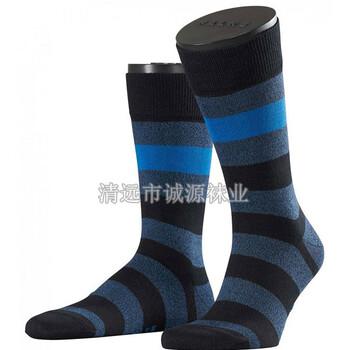 广东袜子加工厂贴牌正装男士袜条子男袜长统男袜