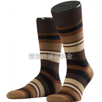 广东佛山袜子厂贴牌长筒袜纯棉男袜外贸袜