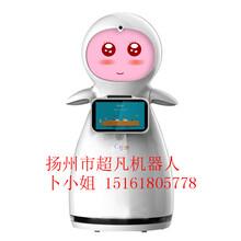 小雪迎宾机器人(情感陪伴机器人)养老院