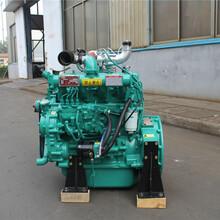潍坊华HBE东发动机有限公司供应型号4105系列用于柴油机水泵固定作业破碎抽沙船机打井勘探华东4105电启动柴油机