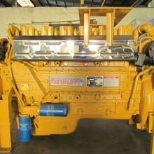 供应潍坊华东HD6126燃气发动机天然气沼气LNGCNG车用发电机组用