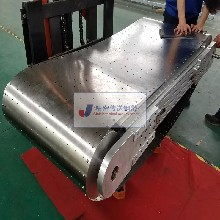 环形不锈钢输送带焊接加工超薄传送钢带定位打孔钢带精密传送钢带厂家