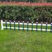 批发六安裕安PVC栅栏_塑钢围墙护栏_草坪围栏
