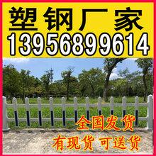全國發貨綿陽北川塑鋼護欄_pvc草坪圍欄圖片