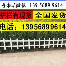 厦门市海沧pvc护栏,草坪护栏型号,量大送货服务到位图片