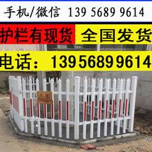 色彩鲜亮宜昌市兴山县pvc护栏绿化带护栏图片