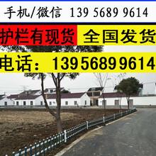 南阳唐河塑钢围栏塑钢栅栏生产厂家图片