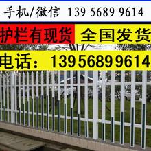 安阳林州pvc塑钢护栏学校围栏护栏年限较长图片
