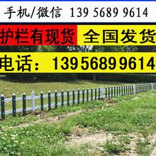 商丘柘城庭院栅栏绿化栏杆塑钢pvc护栏围栏使用寿命长多?图片
