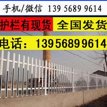 洛阳瀍河回族塑钢栏杆—pvc护栏货到付款图片