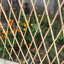 东方市竹篱笆花园围栏竖档间距15厘米图片