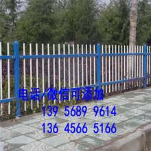 忻府区PVC护栏道路围墙花园隔离栏园林市场价格图片