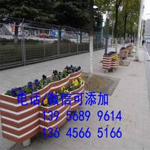 晋江市pvc草坪栅栏pvc草坪栏杆_直接厂家图片