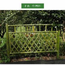 阜阳阜南县花坛护栏pvc绿化护栏怎么样图片
