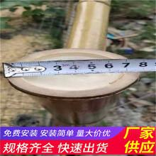 浙江温州木栅栏绿化带花园栏杆竹篱笆(中闻资讯)图片