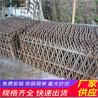 无锡北塘木栅栏pvc小区围墙栅栏竹篱笆(中闻资讯)